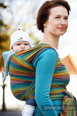 Baby Sling, Broken Twill Weave (100% Cotton) - GAIA - size XL (grade B)