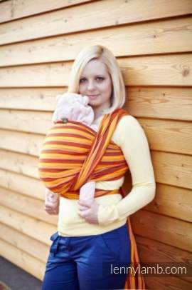 Baby Sling, Diamond Weave, 100% cotton - Surya Diamond - size XS (Grade B)