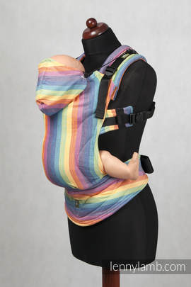 Ergonomic Carrier, Baby Size, broken-twill weave 100% cotton  - wrap conversion from LUNA  - Second Generation(grade B)