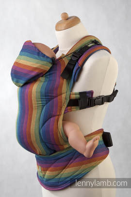 Ergonomic Carrier, Baby Size, broken-twill weave 100% cotton  - wrap conversion from PARADISO COTTON - Second Generation